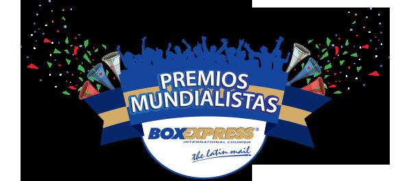 BoxExpress Premios Mundialistas