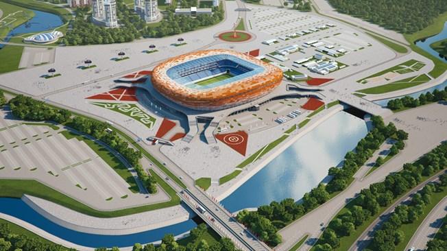 Saransk: Mordovia Arena