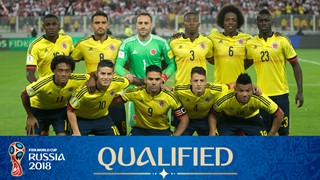 team photo for Colombia