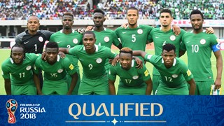 team photo for Nigeria
